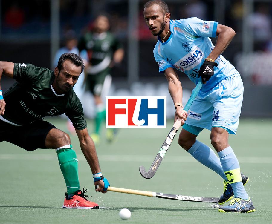 BREDA - Rabobank Hockey Champions Trophy<br /> India - Pakistan<br /> Photo: Sunil Sowmarpet.<br /> COPYRIGHT WORLDSPORTPICS FRANK UIJLENBROEK