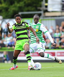 The New Lawn Stadium  - Mandatory by-line: Nizaam Jones/JMP - 19/08/2017 - FOOTBALL - New Lawn Stadium - Nailsworth, England - Forest Green Rovers v Yeovil Town - Sky Bet League Two
