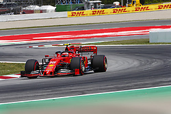 May 11, 2019 - Barcelona, Catalonia, Spain - Ferrari driver Charles Leclerc (16) of Monaco during F1 Grand Prix qualifying celebrated at Circuit of Barcelona 11th May 2019 in Barcelona, Spain. (Credit Image: © Mikel Trigueros/NurPhoto via ZUMA Press)