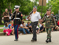Memorial Day parade in Laconia, NH.  Karen Bobotas / for the Laconia Daily Sun
