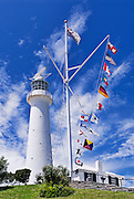 Gibb's Hill Lighthouse,.Bermuda. Built in 1846 using cast iron.