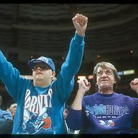 Charlotte Hornets around 1996