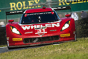 January 22-25, 2015: Rolex 24 hour. 31, Chevrolet, Corvette DP, P, Eric Curran, Max Papis, Dane Cameron, Phil Keen goes off course
