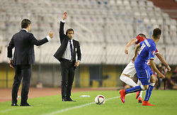 12.06.2015, Stadion Poljud, Split, CRO, UEFA Euro 2016 Qualifikation, Kroatien vs Italien, Gruppe H, im Bild Antonio Conte // during the UEFA EURO 2016 qualifier group H match between Croatia and and Italy at the Stadion Poljud in Split, Croatia on 2015/06/12. EXPA Pictures © 2015, PhotoCredit: EXPA/ Pixsell/ Igor Kralj<br /> <br /> *****ATTENTION - for AUT, SLO, SUI, SWE, ITA, FRA only*****