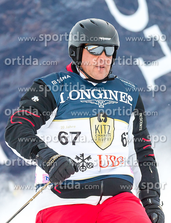 21.01.2017, Hahnenkamm, Kitzbühel, AUT, FIS Weltcup Ski Alpin, KitzCharity Trophy, im Bild Rainer-Mark Frey (UBS 3) // during the KitzCharity Trophy of FIS Ski Alpine World Cup at the Hahnenkamm in Kitzbühel, Austria on 2017/01/21. EXPA Pictures © 2017, PhotoCredit: EXPA/ Serbastian Pucher