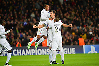 Joie Zlatan IBRAHIMOVIC - 10.12.2014 - Barcelone / Paris Saint Germain - Champions League<br />Photo : Dave Winter / Icon Sport