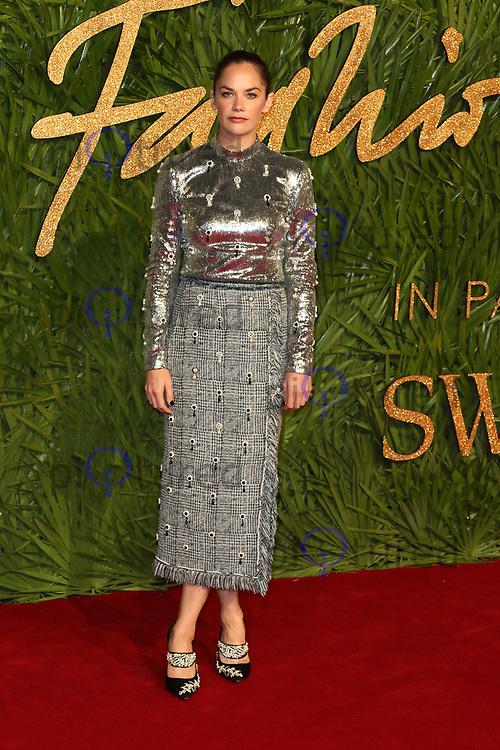 Ruth Wilson, The Fashion Awards 2017, The Royal Albert Hall, London UK, 04 December 2017, Photo by Richard Goldschmidt