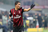 c - Milano - 21.01.2017 - Serie A 21a giornata  -  Milan-Napoli   - nella foto:  Carlos Bacca protesta per la mancata espulsione di Tonelli