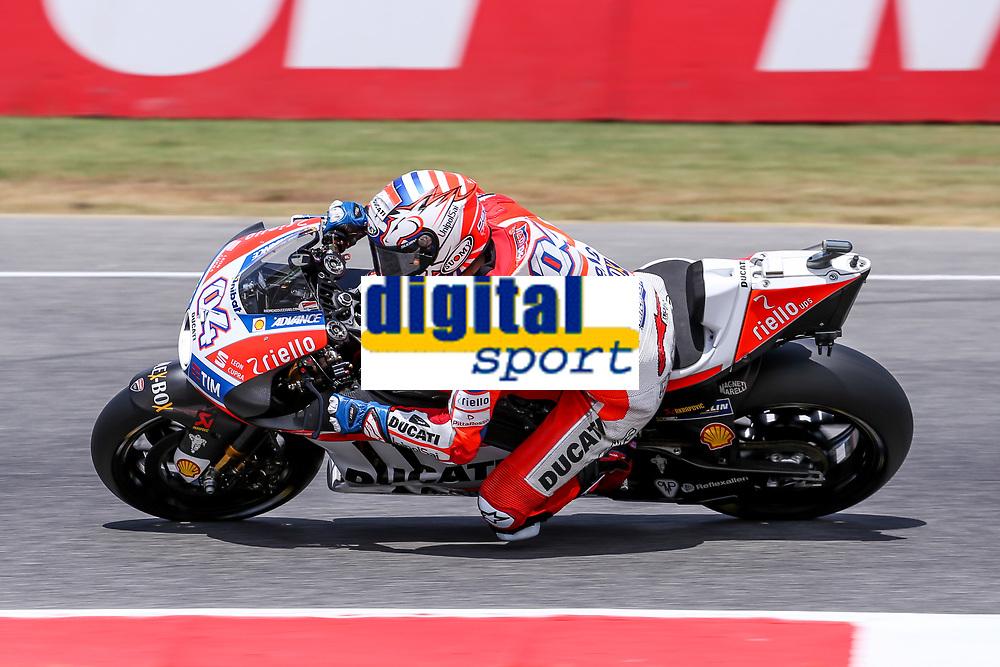 Andrea Dovizioso of Italy and Ducati Team during the MotoGP Italy Grand Prix 2017 at Autodromo del Mugello, Florence, Italy on 4th June 2017. Photo by Danilo D'Auria.<br /> <br /> Danilo D'Auria/UK Sports Pics Ltd/Alterphotos