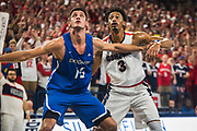 The Zags beat Creighton on Dec. 1 when it hosted the inaugural Jesuit Basketball Classic. (GU photo by Gavin Doremus)