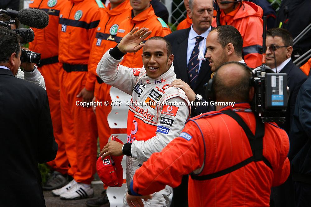 Lewis Hamilton, McLaren Mercedes. Monaco F1 Grand Prix. 25 May 2008. Photo: ATP/PHOTOSPORT