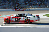 Brad Keselowski wins the O'Reily Auto Parts 300, NASCAR Nationwide series race at Texas Motor speedway