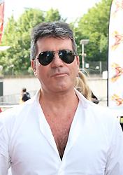 © Licensed to London News Pictures. 24/06/2014. London, UK Simon Cowell, X Factor London Photocall, Emirates Stadium, London UK, 24 June 2014. Photo credit : Richard Goldschmidt/LNP
