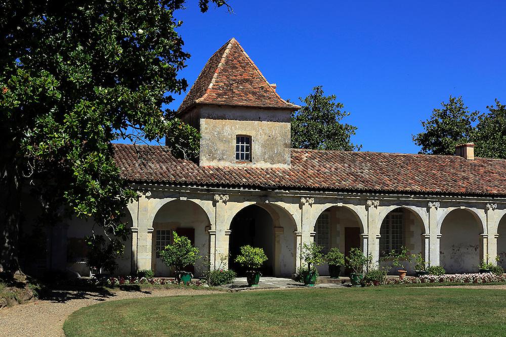 Gaujacq Castle // Chateau de Gaujacq