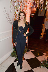 PIPS TAYLOR at the launch of Gordon's 'Ten Green Bottles' by Temperley London held at Temperley London Flagship, 27 Bruton Street, London on 6th November 2013.