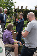 MATTHEW BARZUN US AMBASSADOR, Press view of the 2016 RHS  Chelsea Flower Show,  London.