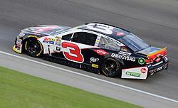 September 16, 2016: Austin Dillon practices during the Teenage Mutant Ninja Turtles 400 practice at Chicagoland Speedway in Joliet, Illinois. Ricky Bassman/CSM(Credit Image: © Ricky Bassman/Cal Sport Media)