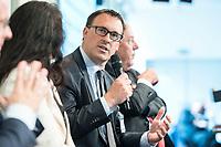 09 MAY 2019, BERLIN/GERMANY:<br /> Saeren Bartol, MdB, SPD, stellv. Vorsitzender der SPD-Bundestagsfraktion, Wirtschaftskonferenz des Wirtschaftsforums der SPD, Kalkscheune<br /> IMAGE: 20190509-01-151<br /> KEYWORDS: Sören Bartol