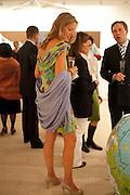 MRS. EDOUARDO FREDIANI, Indonesian Eye Contemporary Art Exhibition Reception, Saatchi Gallery. London. 9 September 2011. <br /> <br />  , -DO NOT ARCHIVE-© Copyright Photograph by Dafydd Jones. 248 Clapham Rd. London SW9 0PZ. Tel 0207 820 0771. www.dafjones.com.