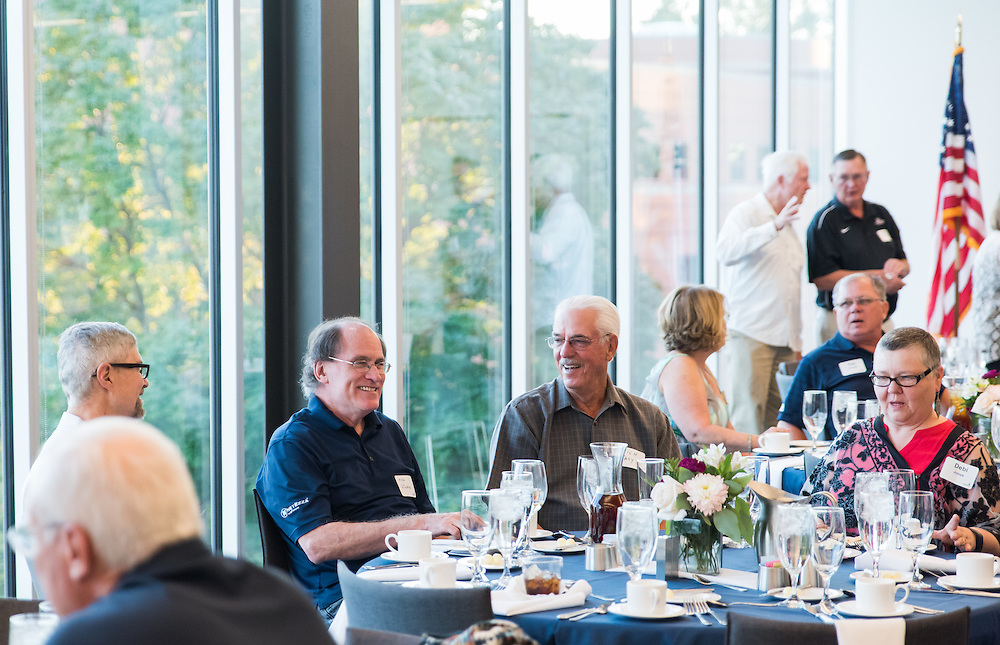 The class of 1971 joined together in the Hemmingson Center on September 10th, 2016 at Gonzaga University. (Photo by Edward Bell)