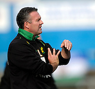Carlisle - Saturday October 10th, 2008: Norwich City manager Paul Lambert during the Coca Cola League One match at Brunton Park, Carlisle. (Pic by Jed Wee/Focus Images)..