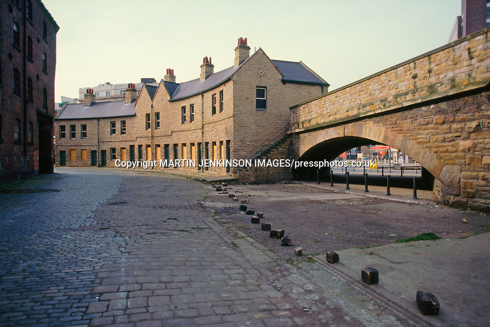 Canal Basin, Sheffield  circa 1988