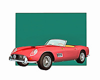 Another classic design from Ferrari, this incredible vintage automobile is a perfect gift for anyone who loves all things that go fast. The attention to detail is breathtaking. At the same time, there is no question that this is a brilliant recreation of one of the most brilliant cars ever made. .<br />