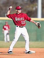 March 17, 2011: The Lubbock Christian University Chaparrals play against the Oklahoma Christian University Eagles at Dobson Field on the campus of Oklahoma Christian University.