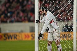 19.12.2010, Mercedes Benz Arena , Stuttgart, GER, 1.FBL, VfB Stuttgart vs FC Bayern Muenchen, im Bild Cristian Molinaro (Stuttgart #3), EXPA Pictures © 2010, PhotoCredit: EXPA/ nph/  Roth       ****** out ouf GER ******
