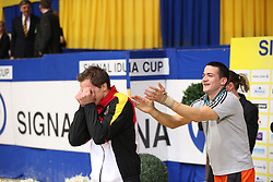 Kaiser, Daniel (GER);<br /> Drewell, Jannis (GER), <br /> Dortmund - Signal Iduna Cup 2016<br /> Voltigieren FEI Weltcup Finale Herren<br /> © www.sportfotos-lafrentz.de / Stefan Lafrentz