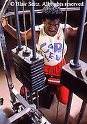 Health Spa, Nautilus Exercise, College Weight Room African American Works Weights, PA