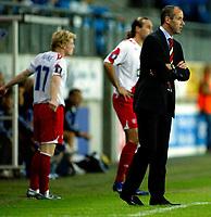 Fotball<br /> UEFA-cup 2006 <br /> 14.09.2006<br /> Molde v  Rangers FC 0-0<br /> Foto: Richard Brevik - Digitalsport<br /> <br /> Chris burke - Rangers<br /> Paul le guen  - trener rangers