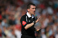 Photo: Rich Eaton.<br /> <br /> Swindon Town v Mansfield Town. Coca Cola League 2. 21/04/2007. referee Mr Stroud