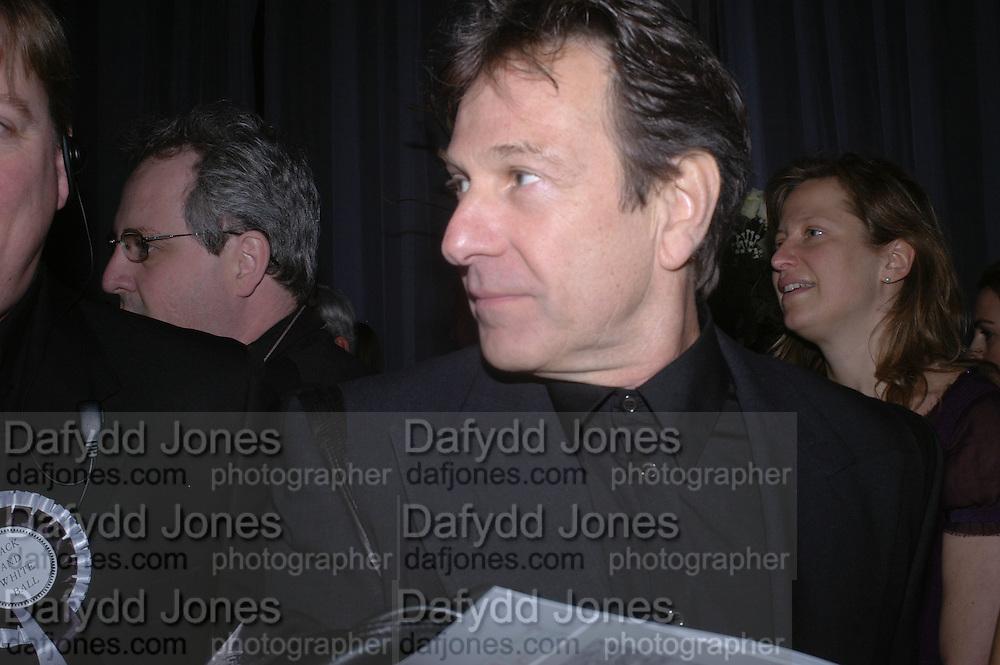 Michael Brandon. The Black and White Winter Ball. Old Billingsgate. London. 8 February 2006. -DO NOT ARCHIVE-© Copyright Photograph by Dafydd Jones 66 Stockwell Park Rd. London SW9 0DA Tel 020 7733 0108 www.dafjones.com