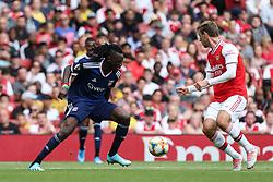 Bertrand Traore of Lyon on the ball - Mandatory by-line: Arron Gent/JMP - 28/07/2019 - FOOTBALL - Emirates Stadium - London, England - Arsenal v Olympique Lyonnais - Emirates Cup