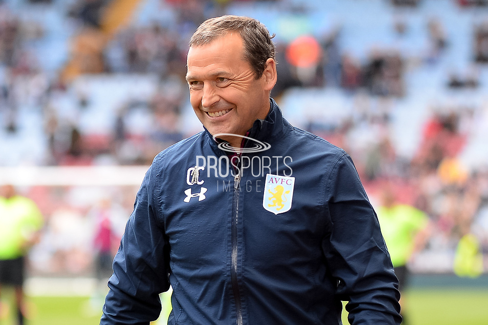 Aston Villa assistant manager Colin Calderwood during the EFL Sky Bet Championship match between Aston Villa and Reading at Villa Park, Birmingham, England on 15 April 2017. Photo by Dennis Goodwin.