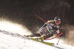 Kaja Norbye (NOR) during the Ladies' Slalom at 56th Golden Fox event at Audi FIS Ski World Cup 2019/20, on February 16, 2020 in Podkoren, Kranjska Gora, Slovenia. Photo by Matic Ritonja / Sportida