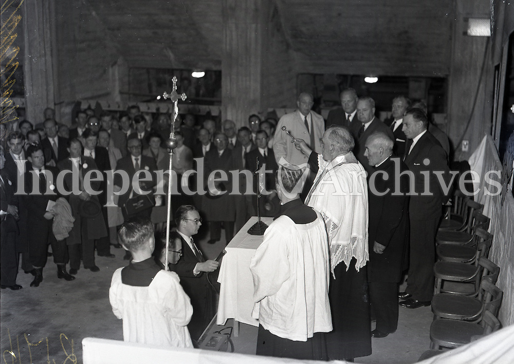 Sean Lemass at opening of Avoca mines 1964. (Part of the Independent Newspapers Ireland/NLI Collection)