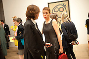 JOAN PUNYET MIRO;  MARISOL RAMIREZ; ;, Joan Mir—: The Ladder of Escape. Tate Modern. London. 12 April 2011. -DO NOT ARCHIVE-© Copyright Photograph by Dafydd Jones. 248 Clapham Rd. London SW9 0PZ. Tel 0207 820 0771. www.dafjones.com.<br /> JOAN PUNYET MIRO;  MARISOL RAMIREZ; ;, Joan Miró: The Ladder of Escape. Tate Modern. London. 12 April 2011. -DO NOT ARCHIVE-© Copyright Photograph by Dafydd Jones. 248 Clapham Rd. London SW9 0PZ. Tel 0207 820 0771. www.dafjones.com.