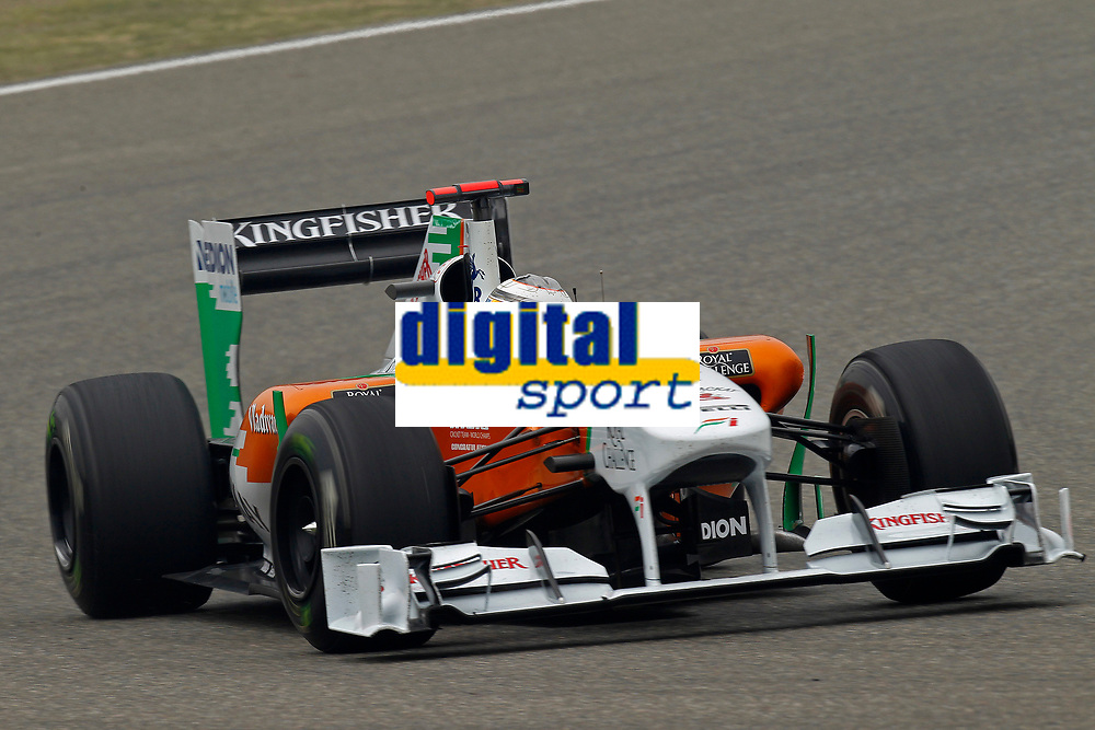 MOTORSPORT - F1 2011 - CHINA GRAND PRIX - SHANGHAI (CHN) - 14 TO 17/04/2011 - PHOTO : FRANCOIS FLAMAND / DPPI - <br /> HULKENBERG NICO (GER) - FORCE INDIA VJM03 - ACTION