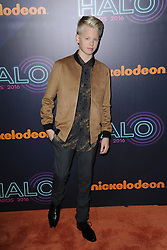 November 11, 2016 - New York, NY, USA - November 11, 2016  New York City..Carson Lueders attending the 2016 Nickelodeon HALO awards at Basketball City Pier 36  South Street on November 11, 2016 in New York City. (Credit Image: © Callahan/Ace Pictures via ZUMA Press)