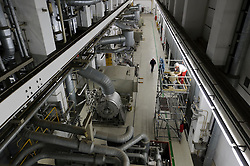 RWE employees work at the nuclear power plant, in Lingen, Germany, on Tuesday, Sept. 6, 2011. (Photo © Jock Fistick)