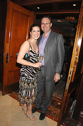 WILLIAM CASH and VANESSA NEUMANN at a party to celebrate the 180th Anniversary of The Spectator magazine, held at the Hyatt Regency London - The Churchill, 30 Portman Square, London on 7th May 2008.<br />