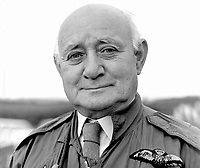 Tubby Dash, 73 years,  former chief flying instructor, Ulster Flying Club, Newtownards, N Ireland, 1974082104555TD1.<br /> <br /> Copyright Image from Victor Patterson, 54 Dorchester Park, Belfast, UK, BT9 6RJ<br /> <br /> t1: +44 28 9066 1296 (from Rep of Ireland 048 9066 1296)<br /> t2: +44 28 9002 2446 (from Rep of Ireland 048 9002 2446)<br /> m: +44 7802 353836<br /> <br /> victorpattersonbelfast@gmail.com<br /> www.victorpatterson.com<br /> <br /> Please see my Terms and Conditions of Use at http://www.c1382010.myzen.co.uk/pdf/Terms%20&%20Conditions.pdf  It is IMPORTANT that you familiarise yourself with them.<br /> <br /> Images used on the Internet incur an additional cost and must be visibly watermarked i.e. ©Victor Patterson within the body of the image and copyright metadata must not be deleted. Images used on the Internet have a size restriction of 4kbs and are chargeable at rates available at victorpatterson.com.<br /> <br /> This image is only available for the use of the download recipient i.e. television station, newspaper, magazine, book publisher, etc, and must not be passed on to any third party. It is also downloaded on condition that each and every usage is notified within 7 days to victorpatterson@me.com<br /> <br /> The right of Victor Patterson to be identified as the author is asserted in accordance with The Copyright Designs And Patents Act (1988). All moral rights are asserted.