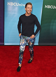 NBCUniversal Summer Press Day at Universal Studios in Universal City, California on 5/2/18. 02 May 2018 Pictured: Derek Hough. Photo credit: River / MEGA TheMegaAgency.com +1 888 505 6342