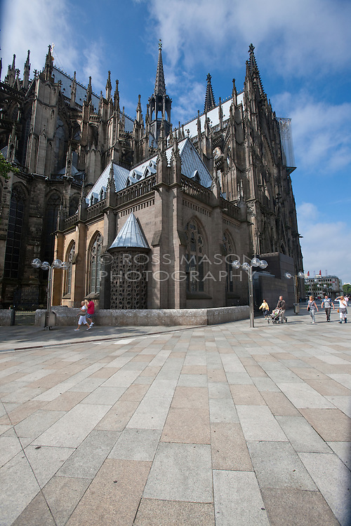 The city of Cologne, Germany.