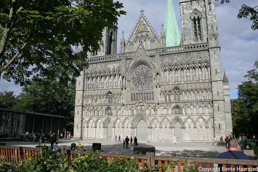 Nidarosdomen, the cathedral of Trondheim, Norway.