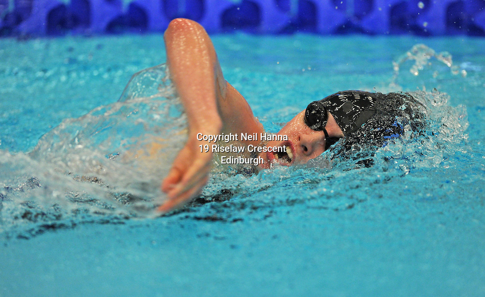 Royal Commonwealth Pool, Edinburgh<br /> Scottish Summer Meet - Sunday 26th July 2015-Day 3 Sunday Finals<br /> <br /> Event 308 Girls 15-18 200m Freestyle<br /> <br /> Elizabeth Clelland<br /> <br />  <br /> <br /> Neil Hanna Photography<br /> www.neilhannaphotography.co.uk<br /> 07702 246823