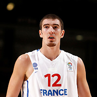 27 August 2011: Nando De Colo is seen during the friendly game won 74-44 by France over Belgium, in Lievin, France.
