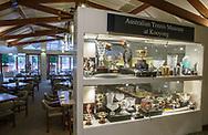 Kooyong Lawn Tennis Club existiert seit 1892 in Kooyong<br /> Restaurant und Museum.